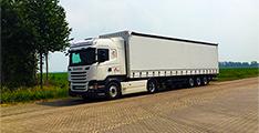 Vrachtwagen Fluit Transport